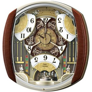 セイコークロック SEIKO 電波掛時計 RE564H ウエーブシンフォニー 送料区分(大) 記念品 名入れ承ります sophias 04