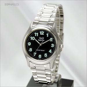 シチズン Q&Q W254J205 腕時計 ステンレスケース クォーツ メンズ|sophias