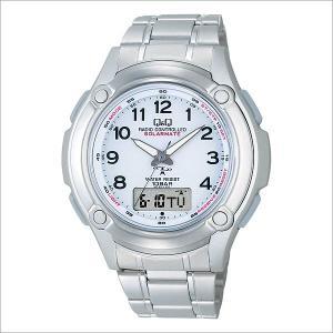 シチズン Q&Q MCS2-301 腕時計 SOLARMATE ソーラーメイト アナログ/デジタル ソーラー電波|sophias