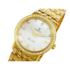 オメガ OMEGA デビル クオーツ レディース 腕時計 41355276055001|sophias