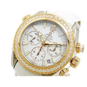 オメガ OMEGA シーマスター 自動巻 レディース クロノ 腕時計 22228385004001|sophias