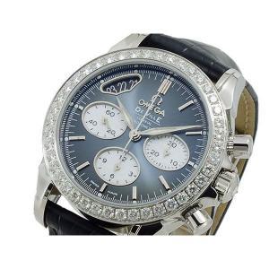 オメガ OMEGA デビル クロノ 自動巻 レディース 腕時計 42218355006001|sophias