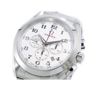 オメガ OMEGA シーマスター アクアテラ 自動巻 メンズ クロノ 腕時計 23110445002001|sophias