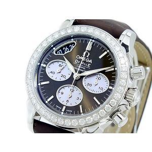 オメガ OMEGA デビル 自動巻 レディース  クロノ 腕時計 42218355013001|sophias