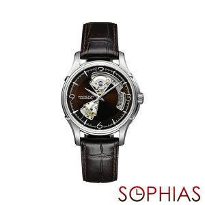 HAMILTON ハミルトン H32565595 腕時計 ジャズマスター ビューマチック オープンハート 自動巻 (長期保証3年付)|sophias