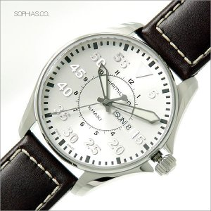 HAMILTON ハミルトン H64611555 腕時計 KHAKI AVIATION PILO カーキ パイロット クォーツ (長期保証3年付)|sophias