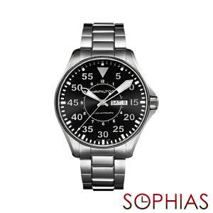 HAMILTON ハミルトン H64715135 腕時計 KHAKI AVIATION PILOT AUTO 自動巻 メンズ (長期保証3年付)|sophias