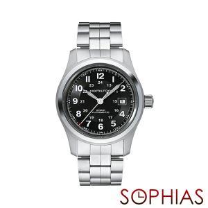 HAMILTON ハミルトン H70515137 腕時計 カーキ フィールド 自動巻 メタル (長期保証3年付)|sophias