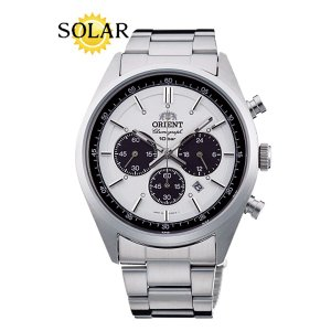 オリエント 腕時計 WV0041TX Neo70's ソーラークロノグラフ メンズ (長期保証3年付) sophias