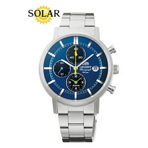オリエント 腕時計 WV0071TY スタイリッシュ&スマート DISK ディスク ソーラー メンズ (長期保証3年付)|sophias