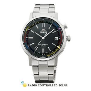 オリエント 腕時計 WV0101SE スタイリッシュ&スマート DISK ディスク ソーラー電波 メンズ (長期保証3年付)|sophias