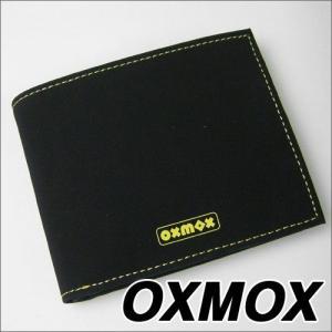 OXMOX(オックスモックス) color(カラー) 2つ折ウォレット イエロー soprano