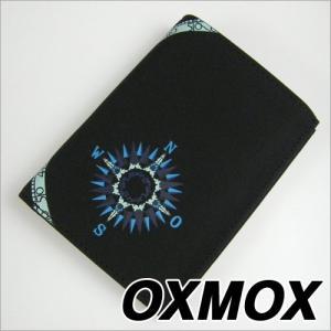 OXMOX (オックスモックス) WIND ROSE 3つ折ウォレット|soprano
