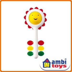 <ボーネルンド> アンビトーイ ambi toys ひまわりラトル soprano