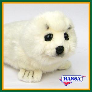 ●オーストラリアのhansa社が制作したARCTIC(北極・南極)シリーズの白あざらし(ホワイト シ...