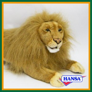 ●オーストラリアのhansa社が制作したAFRICANA(アフリカ サファリ)シリーズの雄ライオン(...