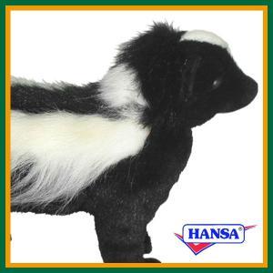 ●オーストラリアのhansa社が制作したWOODLAND(森林地帯)シリーズのリアルなスカンクの動物...