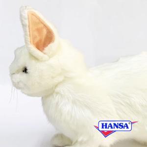 HANSA ハンサ ぬいぐるみ 4671 雪ウサギ 35 SNOW RABBIT soprano