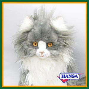 HANSA ハンサ ぬいぐるみ 5012 トラネコ 60 TABBY CAT 猫 とらねこ 【送料無料】 soprano