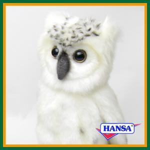 ●オーストラリアのhansa社が制作したWOODLAND(森林地帯)シリーズのシロフクロウ(白梟 ふ...