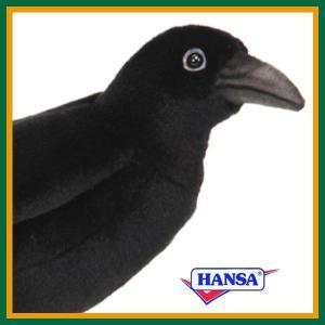 HANSA ハンサ ぬいぐるみ 6266 カラス 31 BLACK CROW soprano