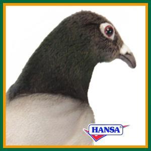 HANSA ハンサ ぬいぐるみ 6299 ハト 29 PIGEON|soprano