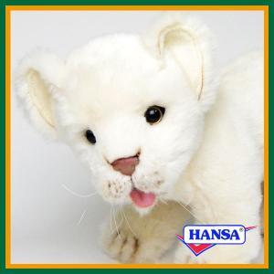 ●オーストラリアのhansa社が制作したAFRICANA(アフリカ サファリ)シリーズのリアルな白い...