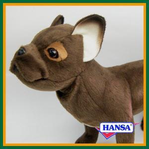HANSA ハンサ ぬいぐるみ 6594 フレンチブルドッグ 26 FRENCH BULLDOG STANDING イヌ 犬 soprano