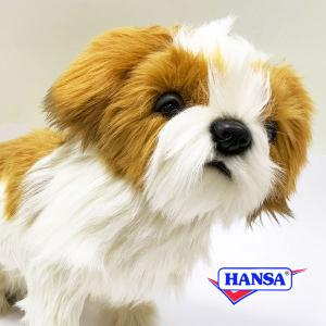 HANSA ハンサ ぬいぐるみ 7030 シーズー 30 SHIH TZU DOG soprano