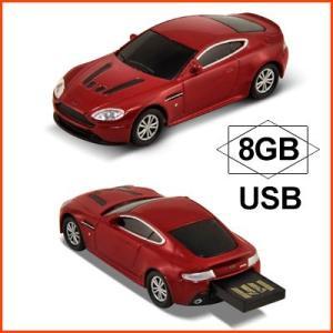 AUTODRIVE オートドライブ USBメモリー Aston Marten V12 Vantage アストンマーチン V12 ヴァンテージ レッド USBメモリ 8GB|soprano