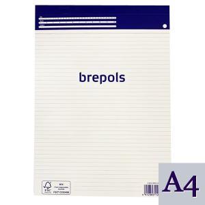 BREPOLS ブレポルス レポートパッド A4 レポート用紙 横罫ノート|soprano