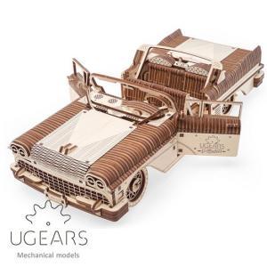 Ugears ユーギアーズ 木製組立立体パズル ドリームカブリオレットVM-05 soprano