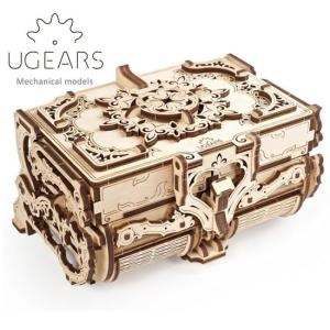 Ugears ユーギアーズ 木製組立立体パズル アンティークボックス soprano