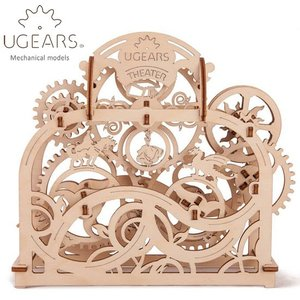 Ugears ユーギアーズ  木製組立立体パズル シアター soprano