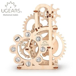 Ugears ユーギアーズ  木製組立立体パズル ダイナモメーター soprano