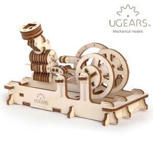 Ugears ユーギアーズ  木製組立立体パズル エンジン soprano