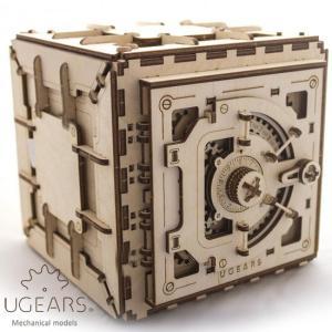 Ugears ユーギアーズ  木製組立立体パズル 金庫 soprano