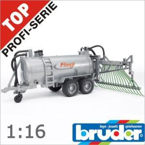 Bruder(ブルーダー)社 Pro Series (プロシリーズ) 02020 Fliegl 散布管付きバレルトレーラー 1/16 soprano