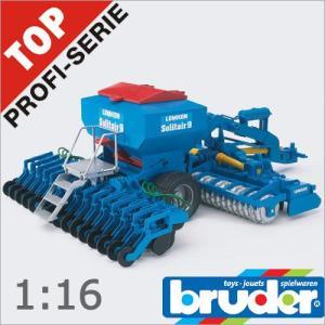 Bruder(ブルーダー)社 Pro Series (プロシリーズ) 02026 LEMKEN Solitair9 播種コンビネーション 1/16 soprano