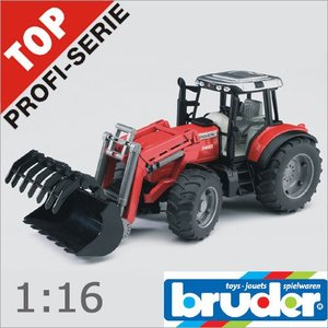 Bruder(ブルーダー)社 Pro Series (プロシリーズ) 02042 マーシファーガソン7480 フロントローダー 1/16 soprano