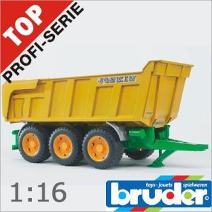 Bruder(ブルーダー)社 Pro Series (プロシリーズ) 02212 JOSKIN Tipトレーラー 1/16 soprano