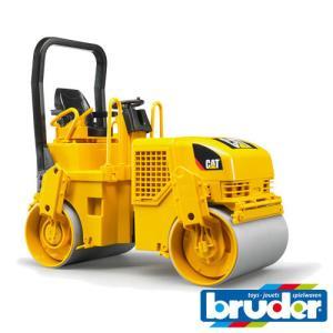 Bruder(ブルーダー)社 Pro Series (プロシリーズ) 02433 CAT アスファルトコンパクター 1/16 soprano