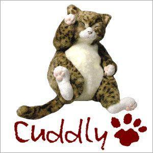 <Cuddly>カドリー こだわりのぬいぐるみ 猫のヌイグルミ ピンカートン(Pinkerton)|soprano
