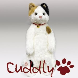 <Cuddly>カドリー こだわりのぬいぐるみ 三毛猫のヌイグルミ 小春(Koharu)|soprano