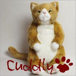 <Cuddly>カドリー こだわりのぬいぐるみ 猫のヌイグルミ わさ美 (Wasabi)|soprano