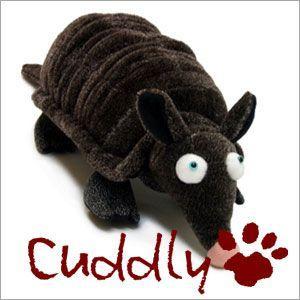 <Cuddly>カドリー こだわりのぬいぐるみ アルマジロのヌイグルミ Rマジロー(Armadillo)|soprano