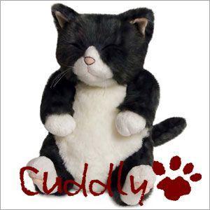 <Cuddly>カドリー こだわりのぬいぐるみ 仔ネコのヌイグルミ ちびソメ(Chibisome)|soprano