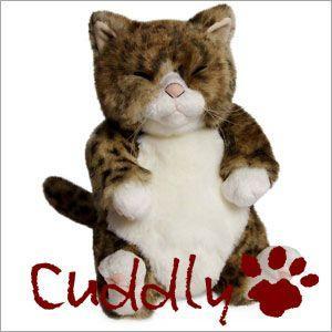 <Cuddly>カドリー こだわりのぬいぐるみ 仔ネコのヌイグルミ ちびピン(Chibipin)|soprano