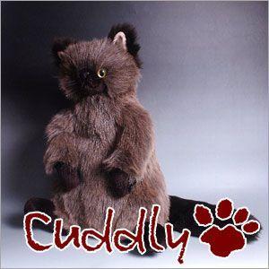 <Cuddly>カドリー こだわりのぬいぐるみ 猫のヌイグルミ パスカル (Pascal)|soprano