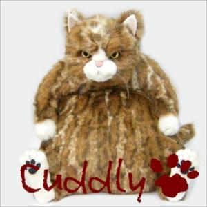 <Cuddly>カドリー こだわりのぬいぐるみ 猫のヌイグルミ ムッシュ (Muche)|soprano